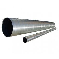 Conductă de aer (Spiro) Ø 100 - 1 М, Din oțel zincat