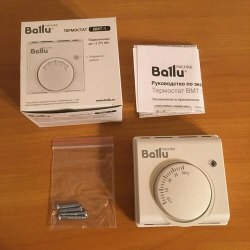 Termostat mecanic Ballu BMT-1